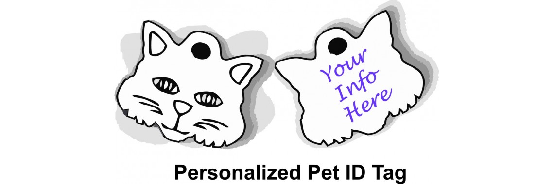 Cat Pet ID Tag