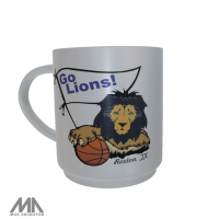 Roxton ISD Ceramic Mug Basketball Lion
