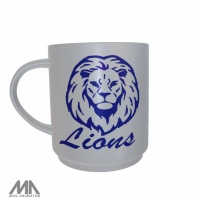 Roxton ISD Ceramic Mug Lion Head