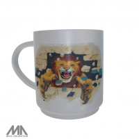 Roxton ISD Ceramic Mug Lion Wall