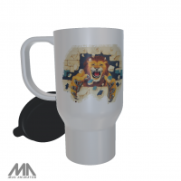 RISD All Class Reunion Travel Mug White Lion Wall
