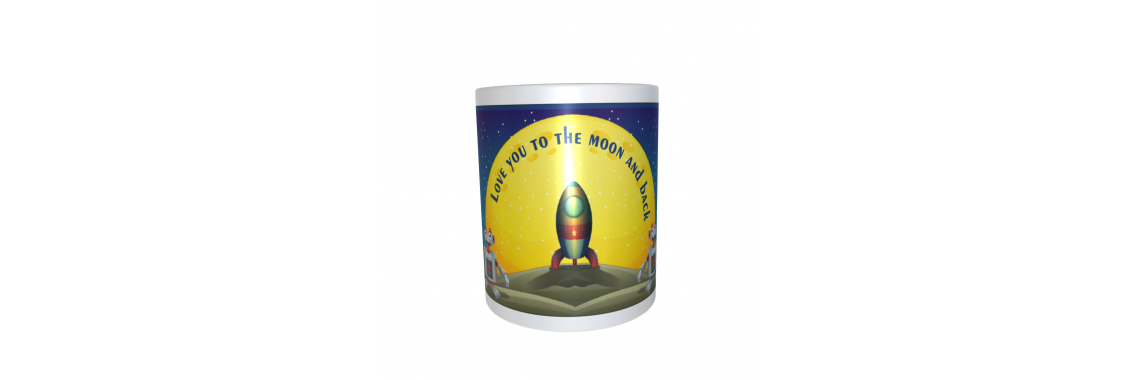 To the Moon and Back Mug
