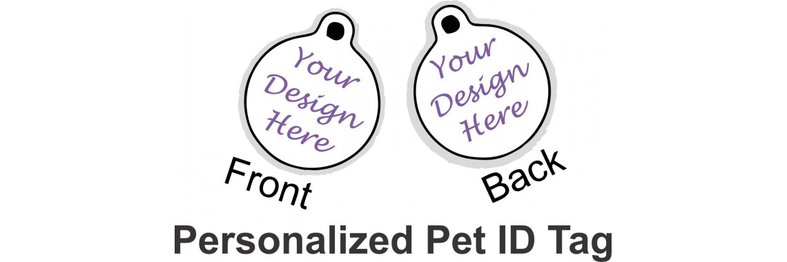 Circle Pet ID Design Your Own
